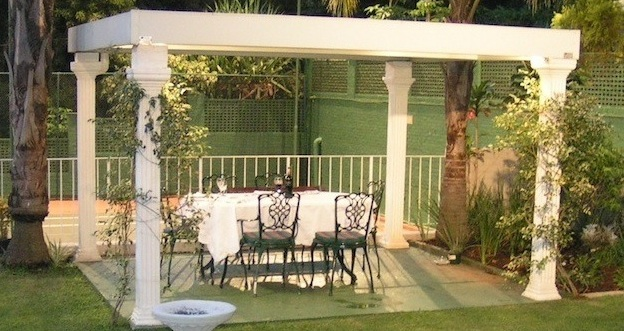 Sit under the Gazebo and enjoy the peaceful surrounding